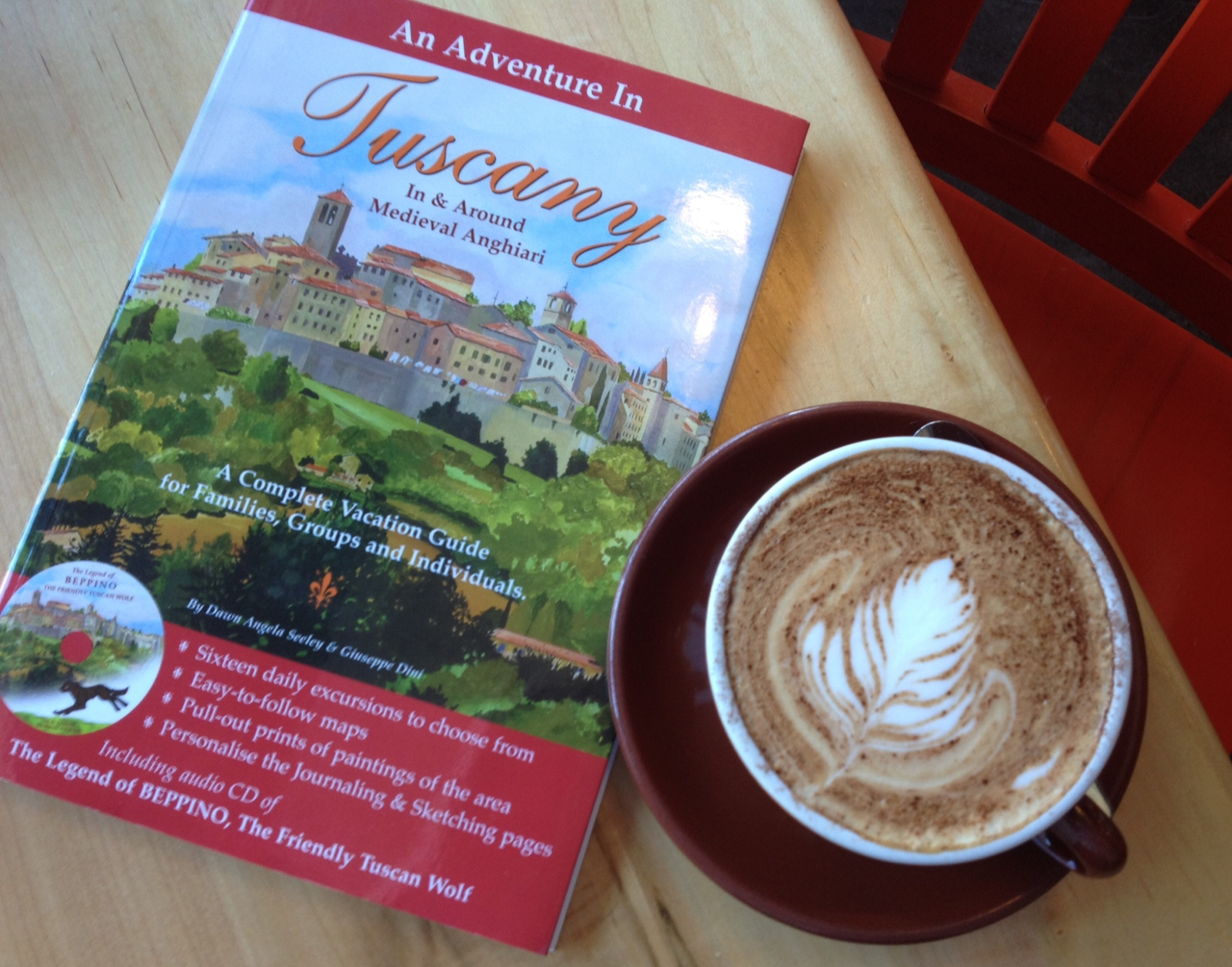 An Adventure in Tuscany Book
