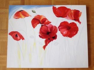 Poppie Painting-Step 1