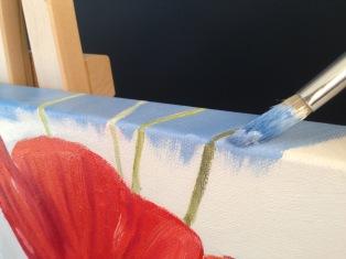 Poppie Painting-Step 3