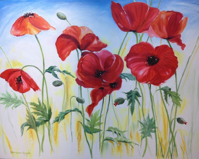 Poppie Painting-Step 4