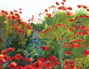 Ensemble of Poppies